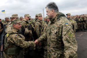 Ukraina mini trečiąsias kruvino karo metines