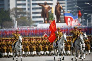 Šiaurės Korėja pasauliui demonstravo savo karinę galią