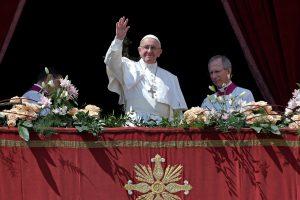 Popiežius Pranciškus kreipėsi į miestą ir pasaulį