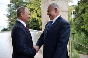 Rusijos lyderis ir Izraelio premjeras aptars ir Sirijos problemas