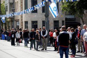 Izraelis ir Lenkija pagerbė Holokausto aukų atminimą
