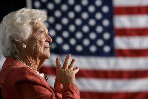 Mirė buvusi JAV pirmoji ponia B. Bush (papildyta)