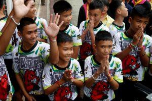 Išgelbėta komanda ir Tailando chunta?