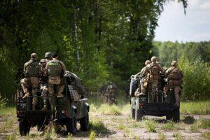 Baigėsi didžiausios šiais metais Baltijos regione tarptautinės karių pratybos