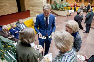 Sostinės meras paskelbė senjorų laukiamiausią akciją