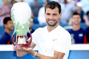Karjeros pasiekimas: G. Dimitrovas tapo Sinsinačio turnyro nugalėtoju