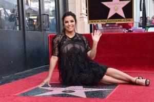 Besilaukianti E. Longoria gavo žvaigždę Holivudo Šlovės alėjoje