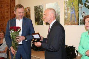 Ekspedicijų į tremties vietas rengėjui G. Aleknai – apdovanojimas
