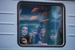 Rusijos geležinkelių įmonės pusmečio pelnas sunyko daugiau nei perpus