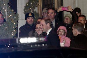 Britų karališkoji pora atvyko į Niujorką