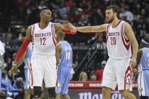 """Prie 18-tos """"Rockets"""" pergalės NBA lygoje D. Motiejūnas prisidėjo 25 taškais"""