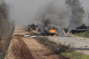 """Per """"Hezbollah"""" ataką žuvo du Izraelio kariai"""