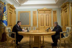 Ukrainos prezidentas atleido oligarchą I. Kolomoiskį iš regiono vadovo pareigų
