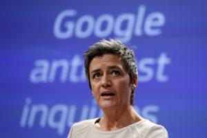 """ES pareiškė """"Google"""" oficialius kaltinimus dėl konkurencijos įstatymų pažeidimo"""