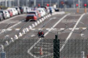 Lamanšo tunelyje žuvo jaunas migrantas: pateko po krovininio traukinio ratais