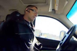 Gėda visai policijai: berankis kanadietis apskundė gautą baudą ir laimėjo