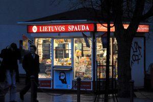 Kaune kiosko pardavėja pasipriešino plėšikams