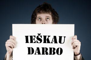 Rugpjūtį nedarbas Lietuvoje buvo artimas ES vidurkiui