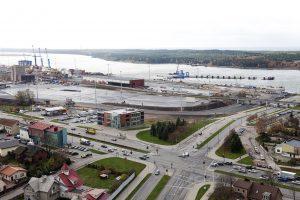 Klaipėdos keleivių ir krovinių terminalo statybose – pabaigtuvių nuotaikos