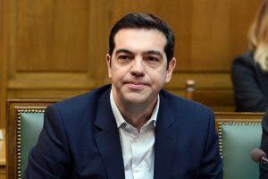 Graikų premjeras siūlo per televizijos debatus aptarti susitarimą su Makedonija