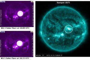 Saulės aktyvumas toliau grėsmingai auga: ką tik užfiksuoti dar du nauji žybsniai