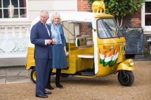 Britanijos princas Charlesas su žmona Camilla mini vedybų 10-metį