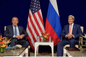 JAV ir Rusija susitarė dėl JT rezoliucijos, tirsiančios cheminę ataką Sirijoje