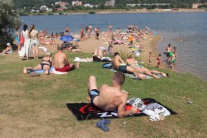 Kauno paplūdimiuose maudytis saugu