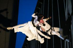 Klaipėdos muzikinio teatro šokėjai skraidė šokyje