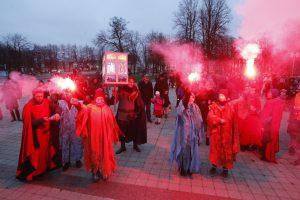 Šv. Martyno dieną – eitynės su žibintais