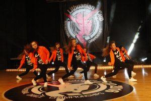 Uostamiestyje – azartiškas šokių čempionatas