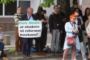 Švietimo ministrė: dėl universitetų reformos dar reikia diskutuoti