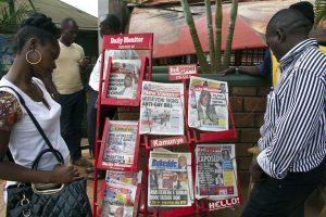 """Homoseksualius santykius uždraudusios Ugandos laikraštis įvardino 200 """"gėjų"""""""