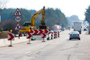 Pradedamas naujas kelio Vilnius–Utena tvarkymo etapas