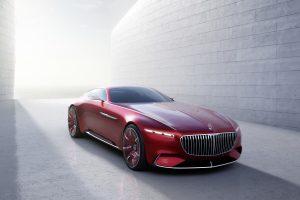 """""""Mercedes-Maybach 6"""" – sportinė naujos klasikos interpretacija"""