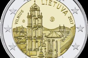 Proginė 2 eurų moneta atskleis paslaptingas Vilniaus istorijas