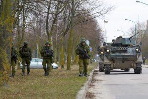 Lietuvos kariuomenės pratybos keliasi į Marijampolę ir Vilkaviškį