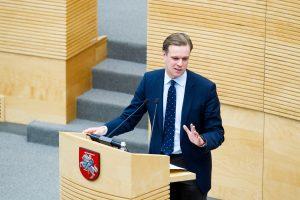 G. Landsbergis: premjeras turi atsistatydinti