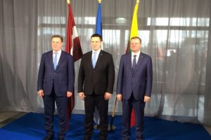 Baltijos ministrų tarybai pirmininkaus Lietuva