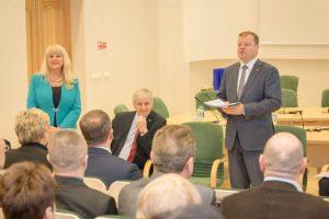 S. Skvernelis žada užtikrinti nemokamą lietuvių kalbos mokymą Visagine