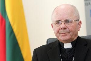 Iš KGB kameros Vilniuje popiežius pasauliui pasiųs svarbią žinią