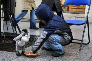 Profesorė: skurde gyvena trečdalis Lietuvos vaikų