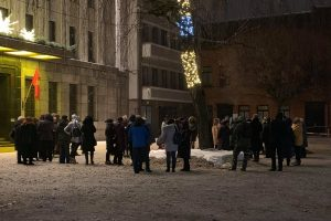 Bruzdesys prie savivaldybės: Kauno mokytojai palaiko streikuojančius kolegas