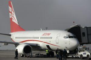 Nuo balandžio – tiesioginiai skrydžiai iš Vilniaus į Tbilisį