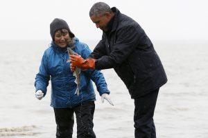 JAV pralaimint Rusijai kovą dėl Arkties, B. Obama apsilankė Aliaskoje