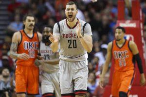"""""""Rockets"""" treneris D. Motiejūno laukia išskėstomis rankomis"""