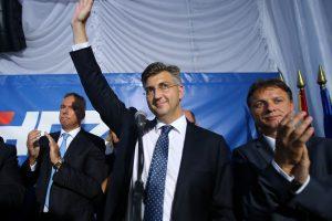Kroatijoje pirmalaikius rinkimus laimi konservatoriai