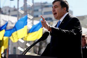 M. Saakašvilis pažadėjo naujos revoliucijos Ukrainoje neorganizuoti