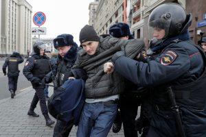 Rusijos opozicionierius įspėja dėl galimo jėgos panaudojimo protestuose