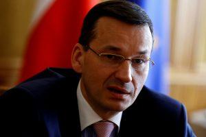 Naujasis Lenkijos premjeras svajoja apie krikščioniškesnę Europą